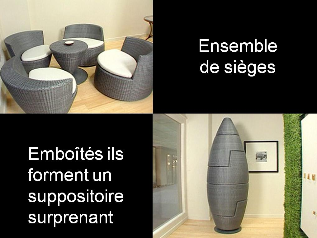 invention insolite : fauteuil suppositoire