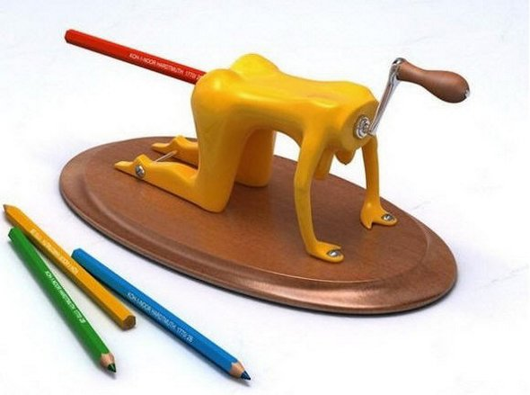 invention insolite : taille crayon
