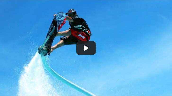 : Le Hoverbord version aquatique !